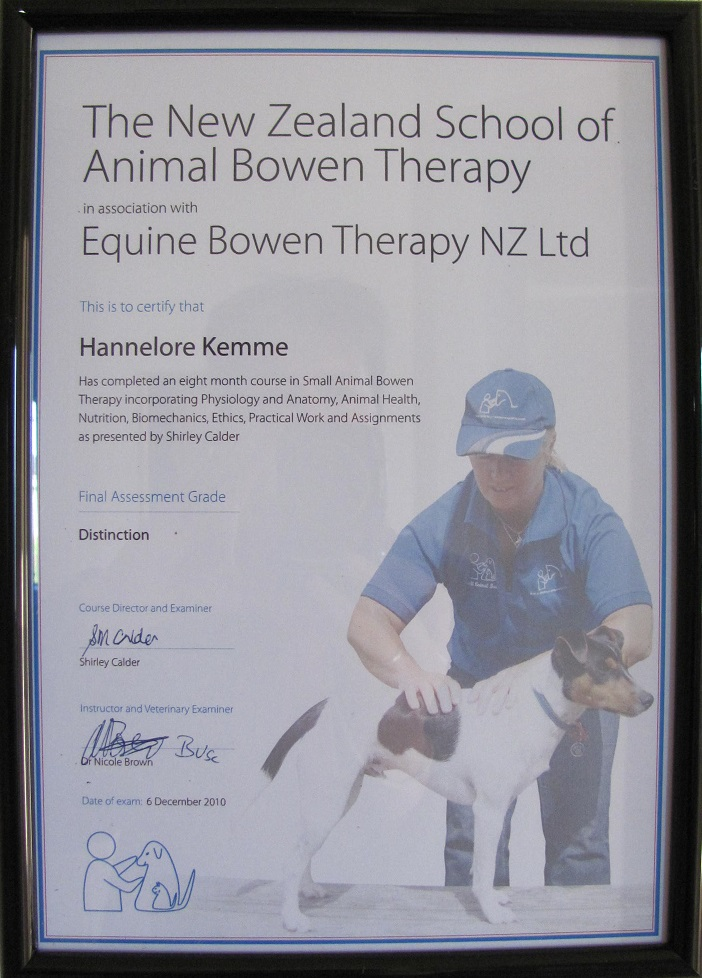 Animal Bowen Therapy